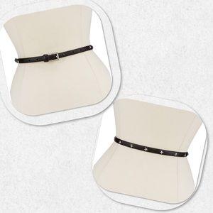 Michael Kors Star-Studded Skinny Belt